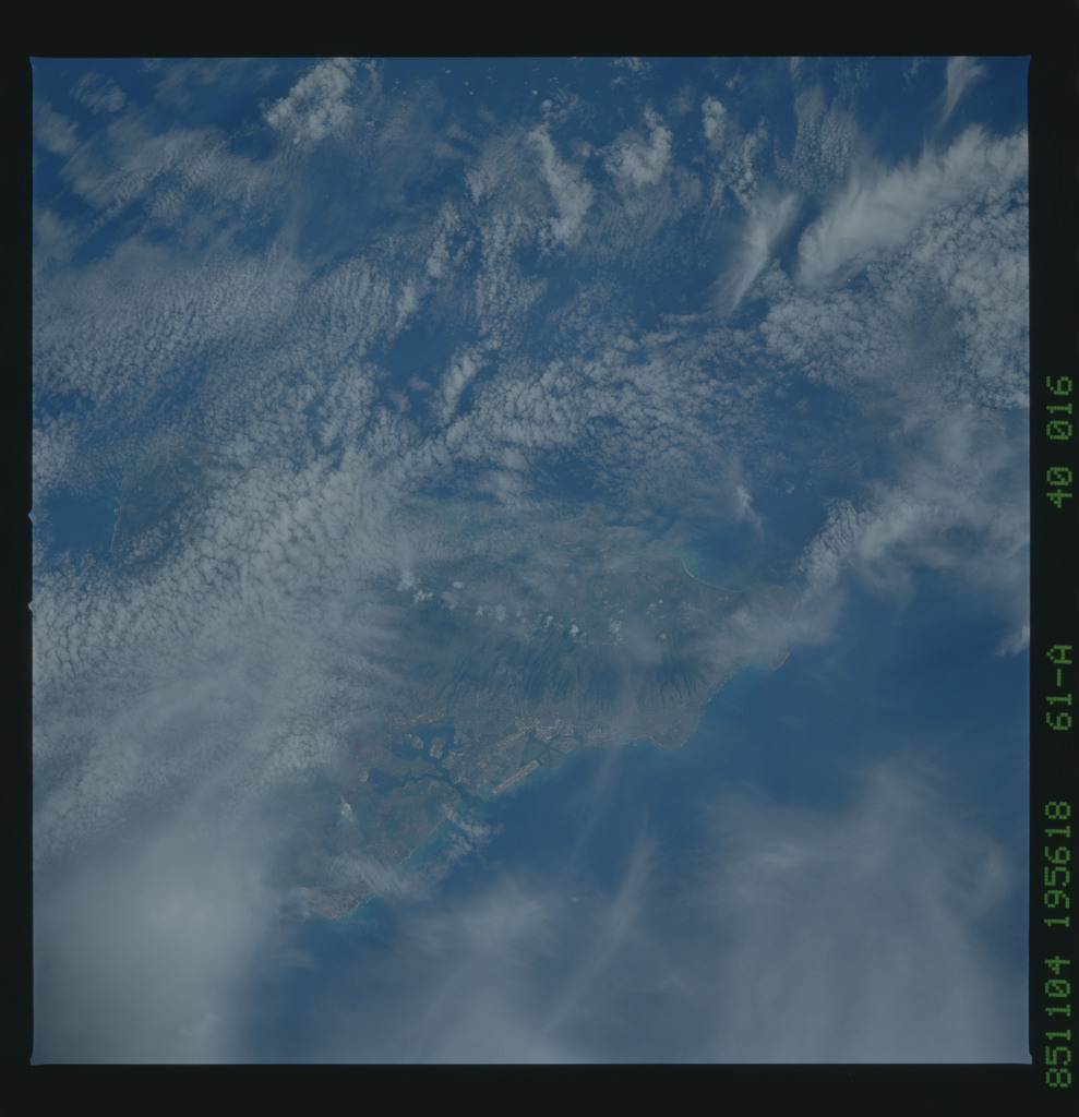 61A-40-016 - STS-61A - STS-61A earth observations