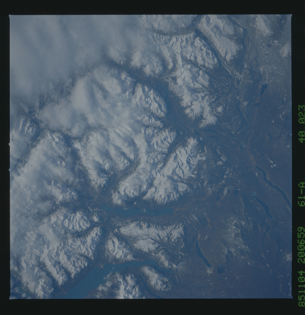 61A-40-023 - STS-61A - STS-61A earth observations