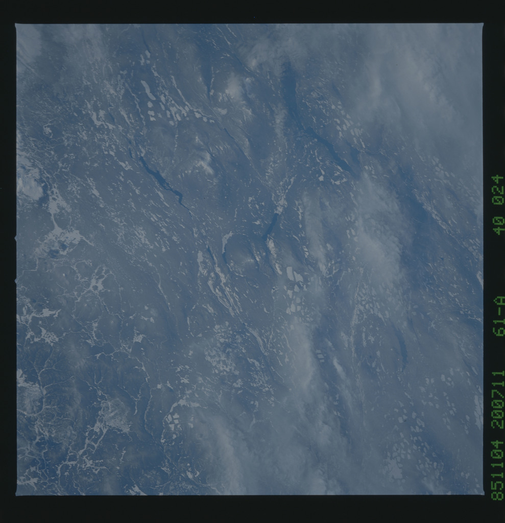 61A-40-024 - STS-61A - STS-61A earth observations