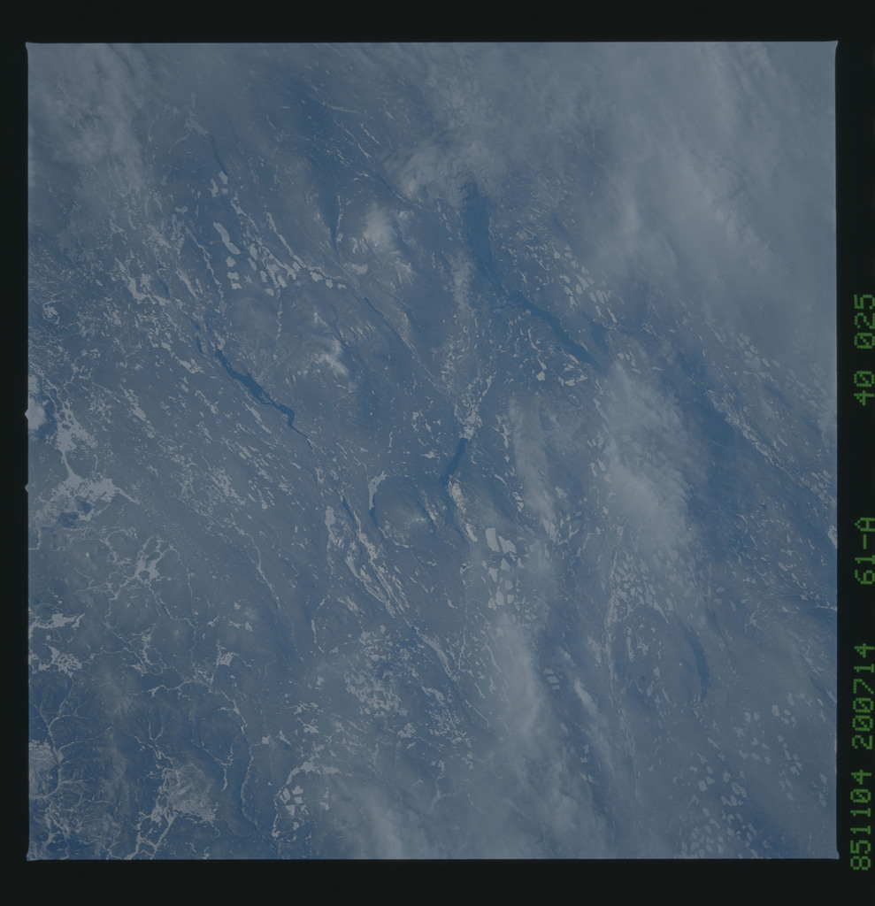 61A-40-025 - STS-61A - STS-61A earth observations