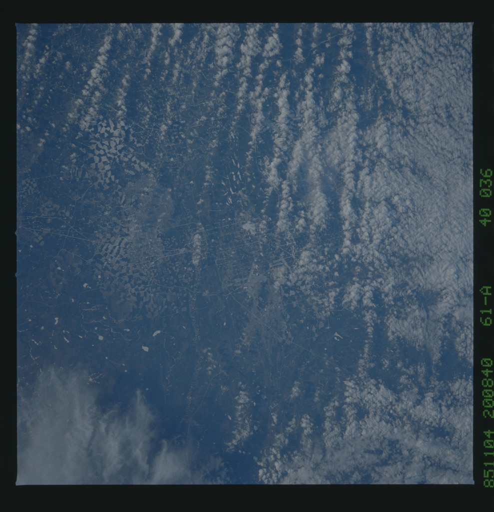61A-40-036 - STS-61A - STS-61A earth observations