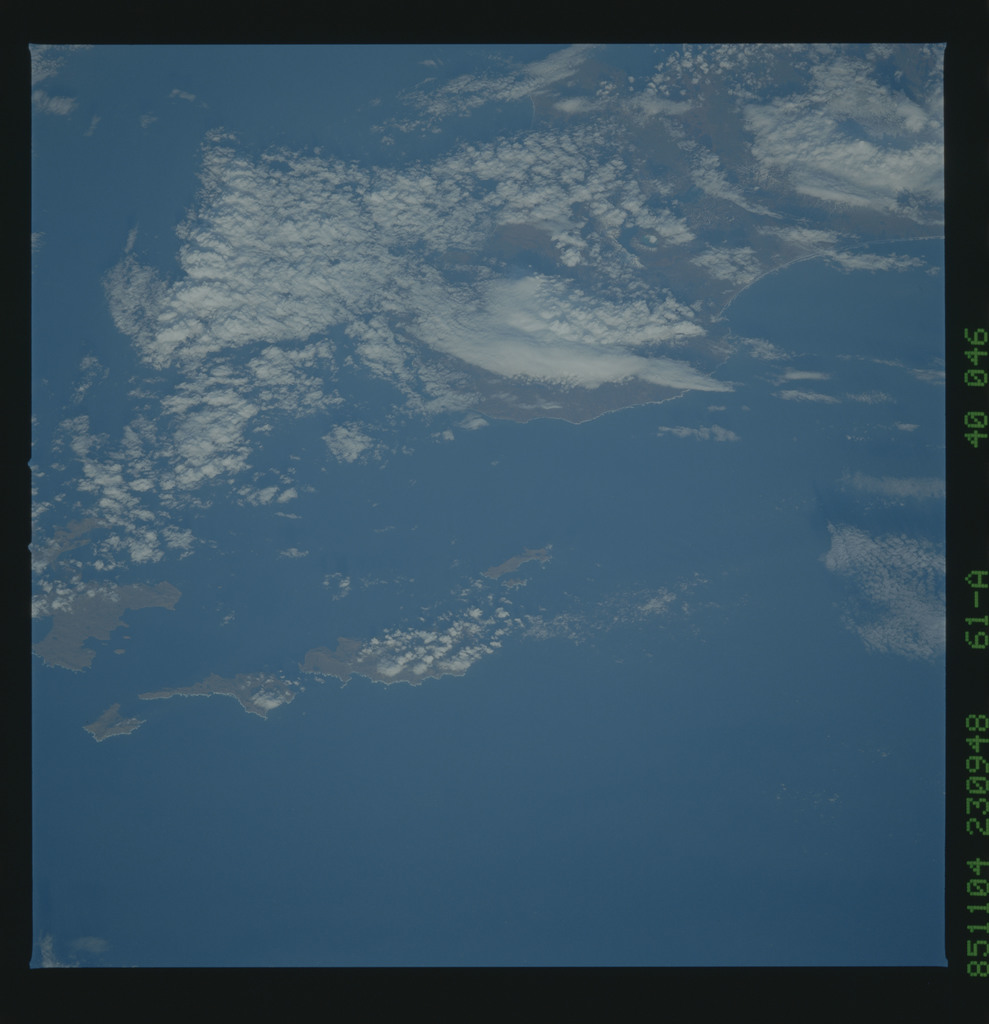 61A-40-046 - STS-61A - STS-61A earth observations