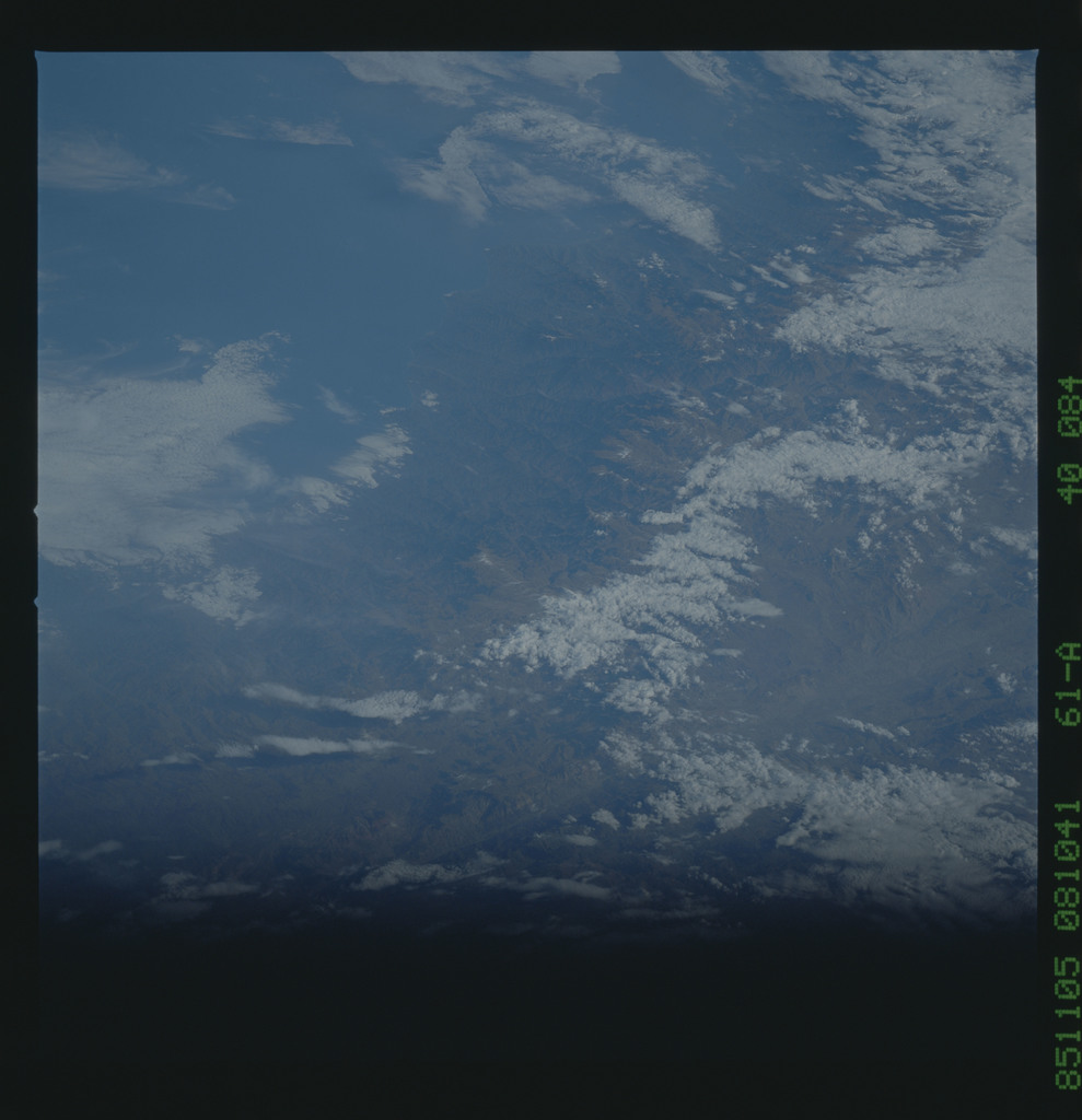 61A-40-084 - STS-61A - STS-61A earth observations