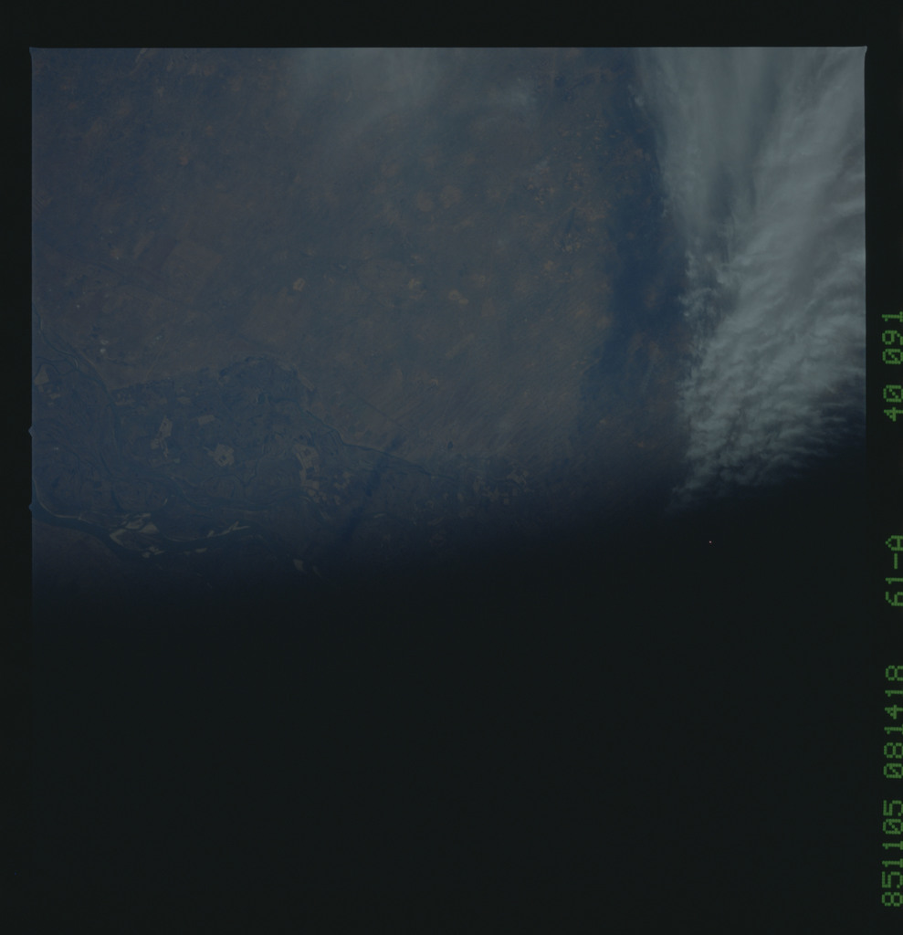 61A-40-091 - STS-61A - STS-61A earth observations