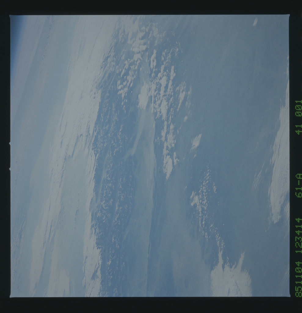 61A-41-001 - STS-61A - STS-61A earth observations