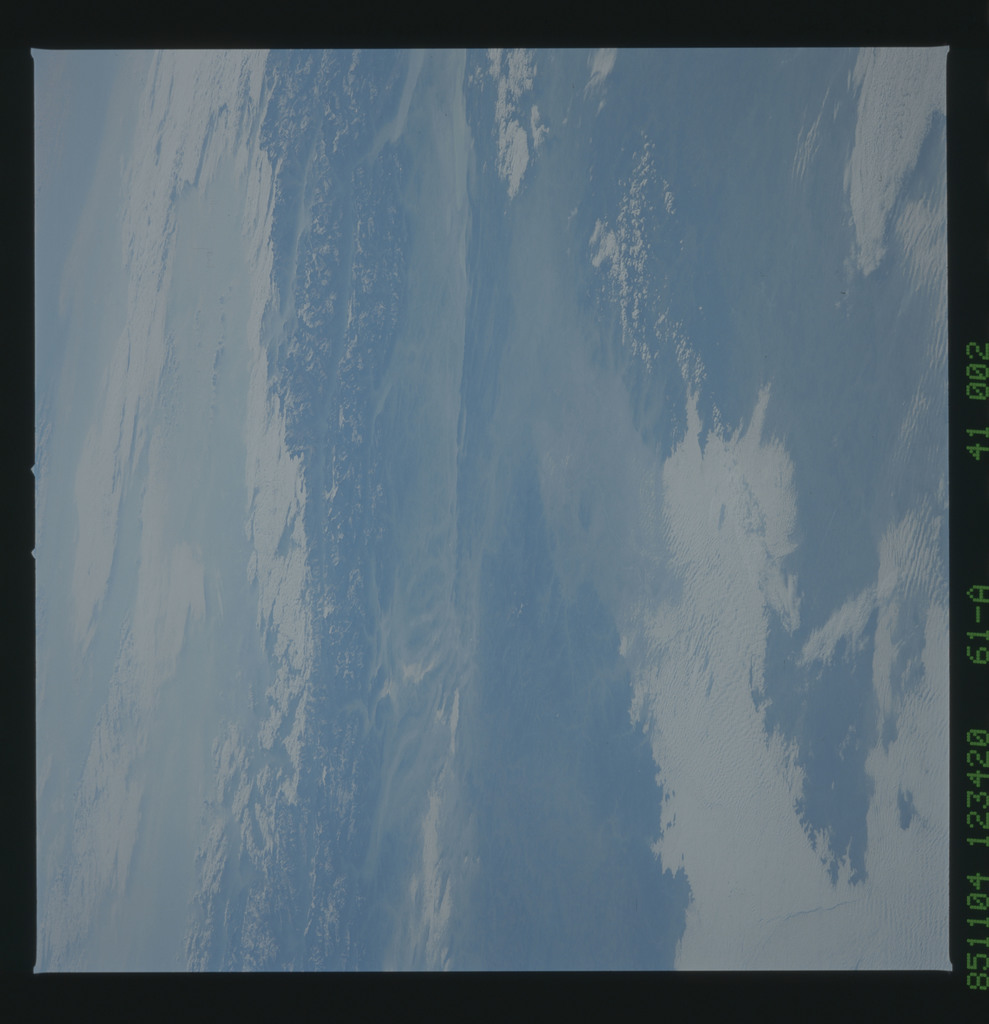 61A-41-002 - STS-61A - STS-61A earth observations