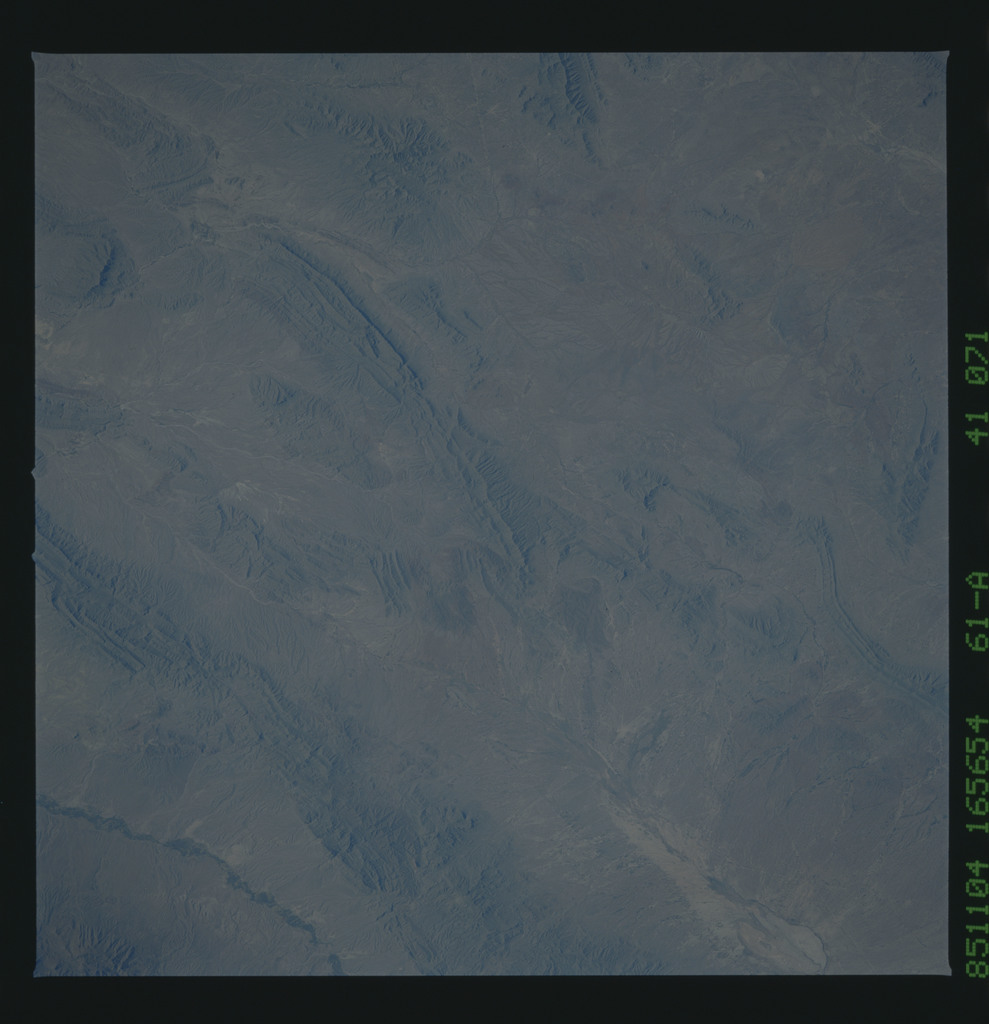 61A-41-071 - STS-61A - STS-61A earth observations