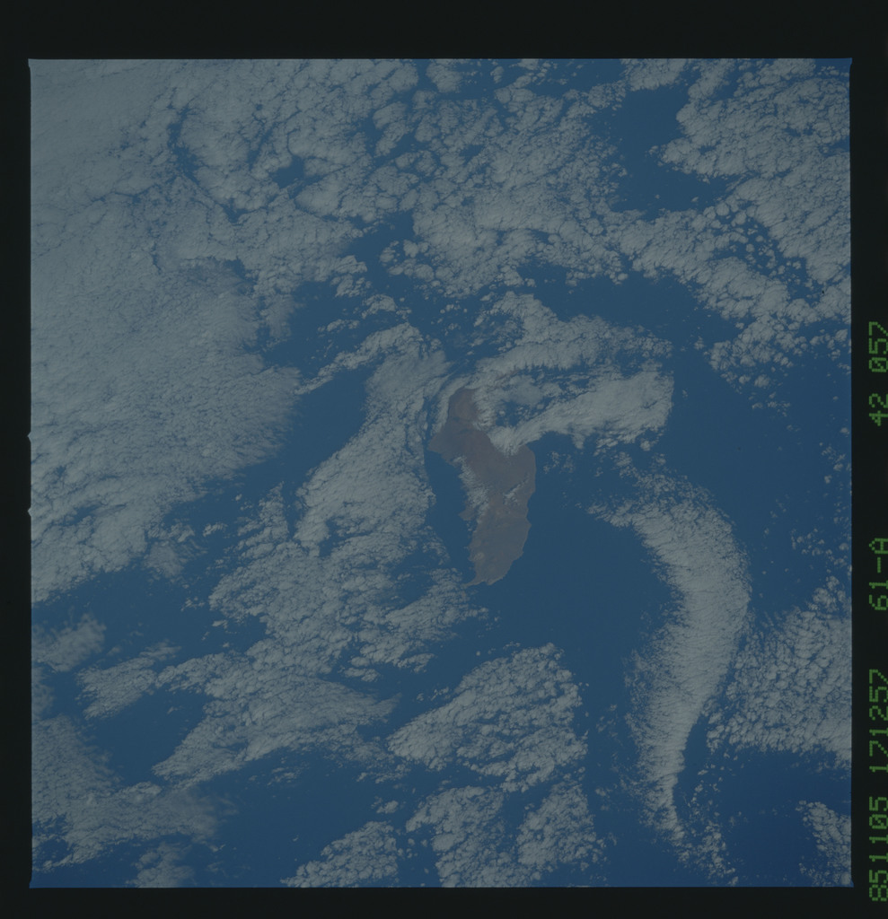 61A-42-057 - STS-61A - STS-61A earth observations