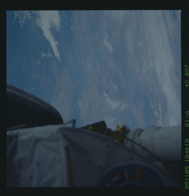 61A-42-097 - STS-61A - STS-61A earth observations