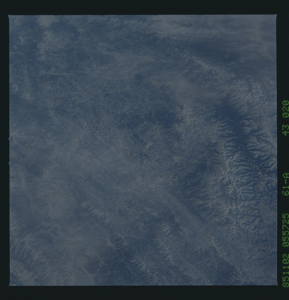 61A-43-020 - STS-61A - STS-61A earth observations