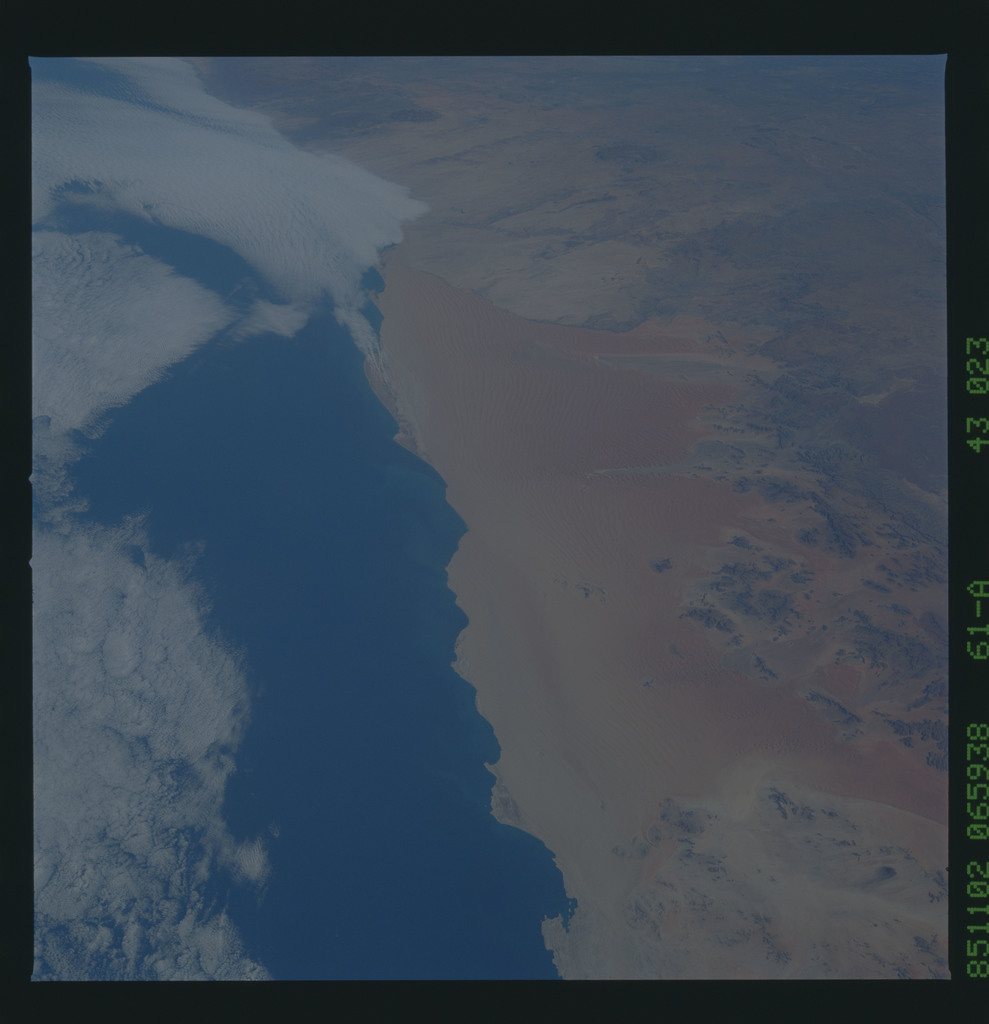61A-43-023 - STS-61A - STS-61A earth observations