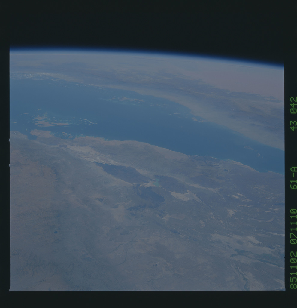 61A-43-042 - STS-61A - STS-61A earth observations