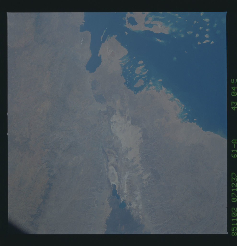 61A-43-045 - STS-61A - STS-61A earth observations