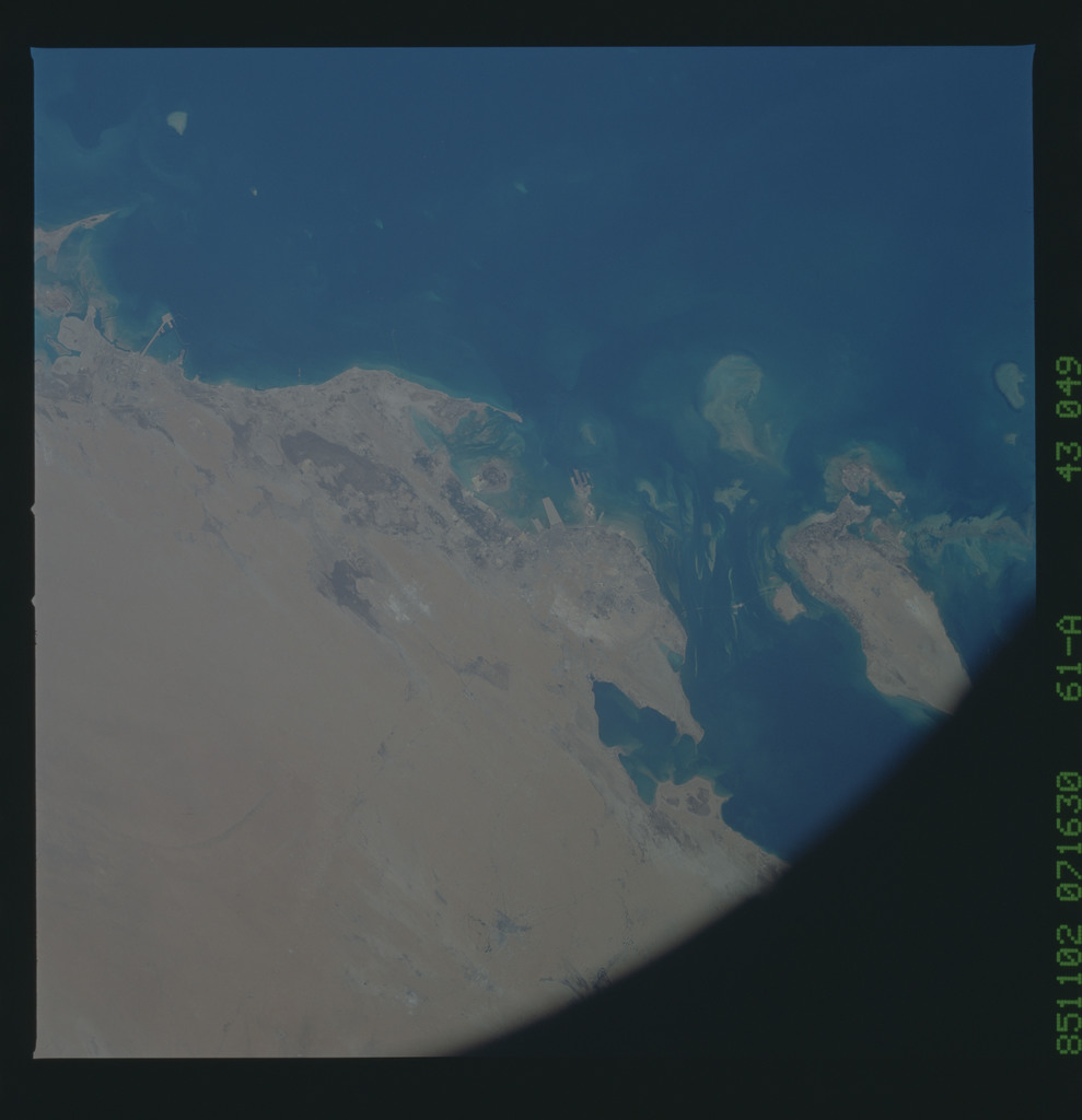 61A-43-049 - STS-61A - STS-61A earth observations