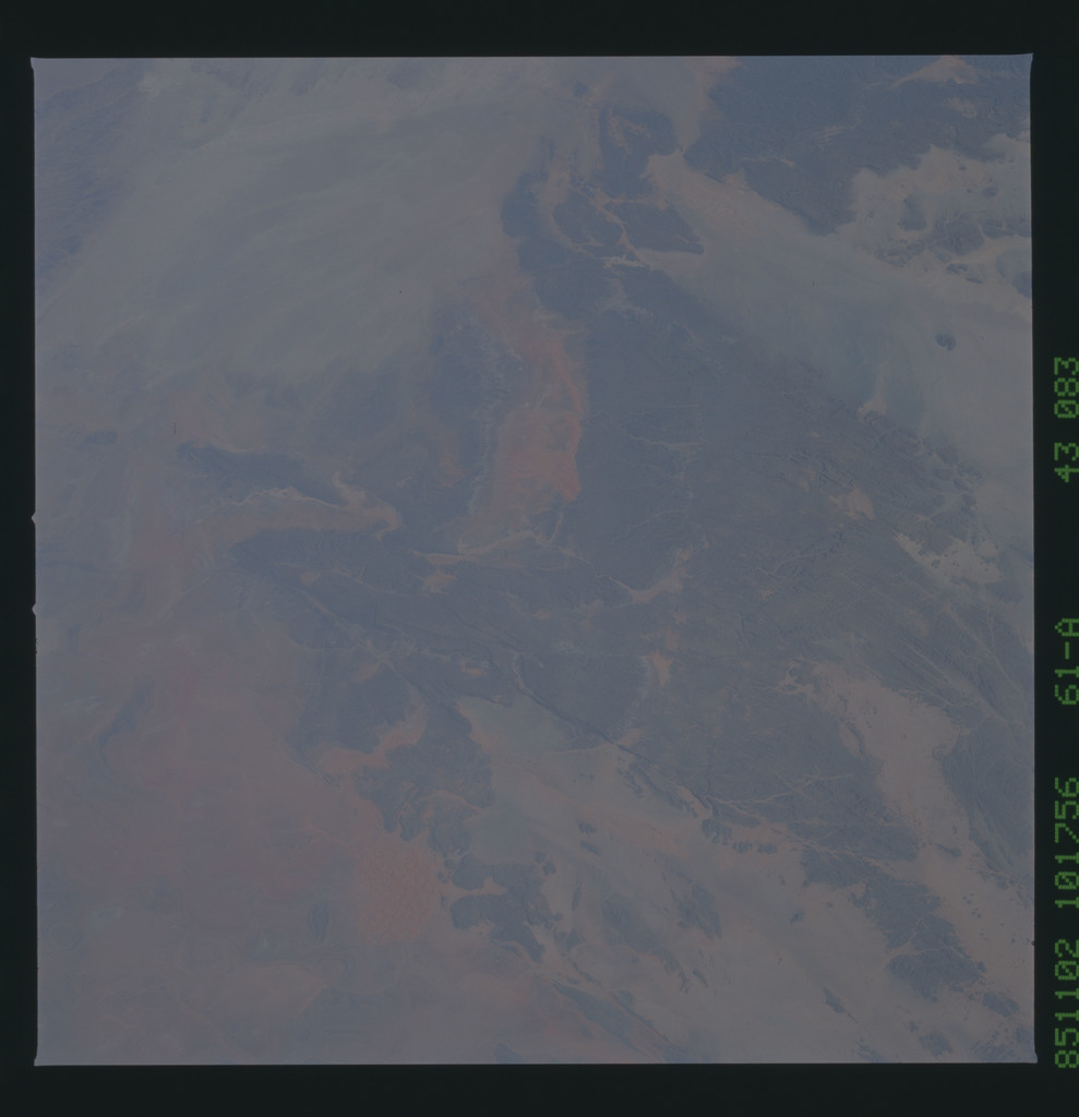 61A-43-083 - STS-61A - STS-61A earth observations