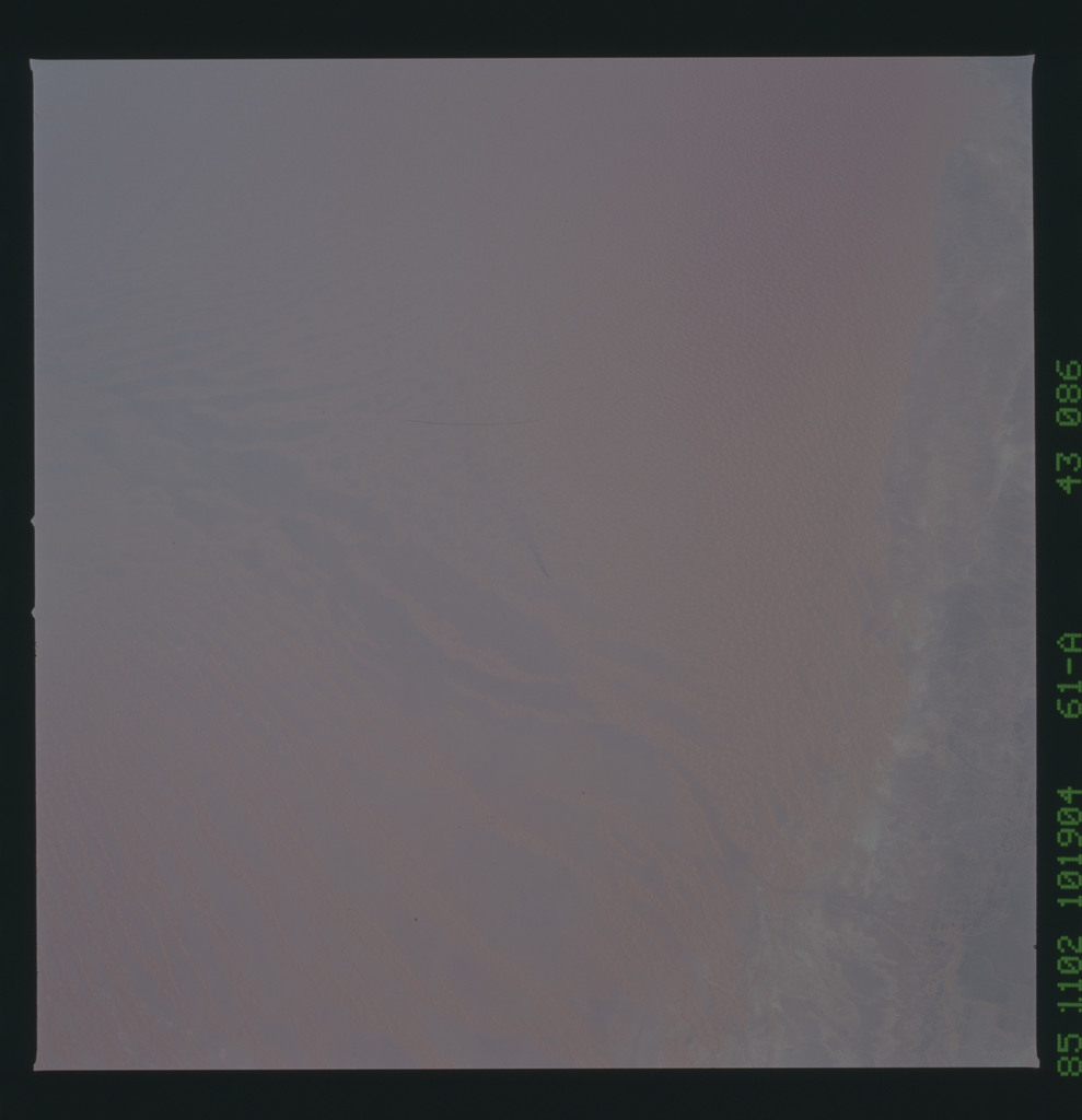 61A-43-086 - STS-61A - STS-61A earth observations