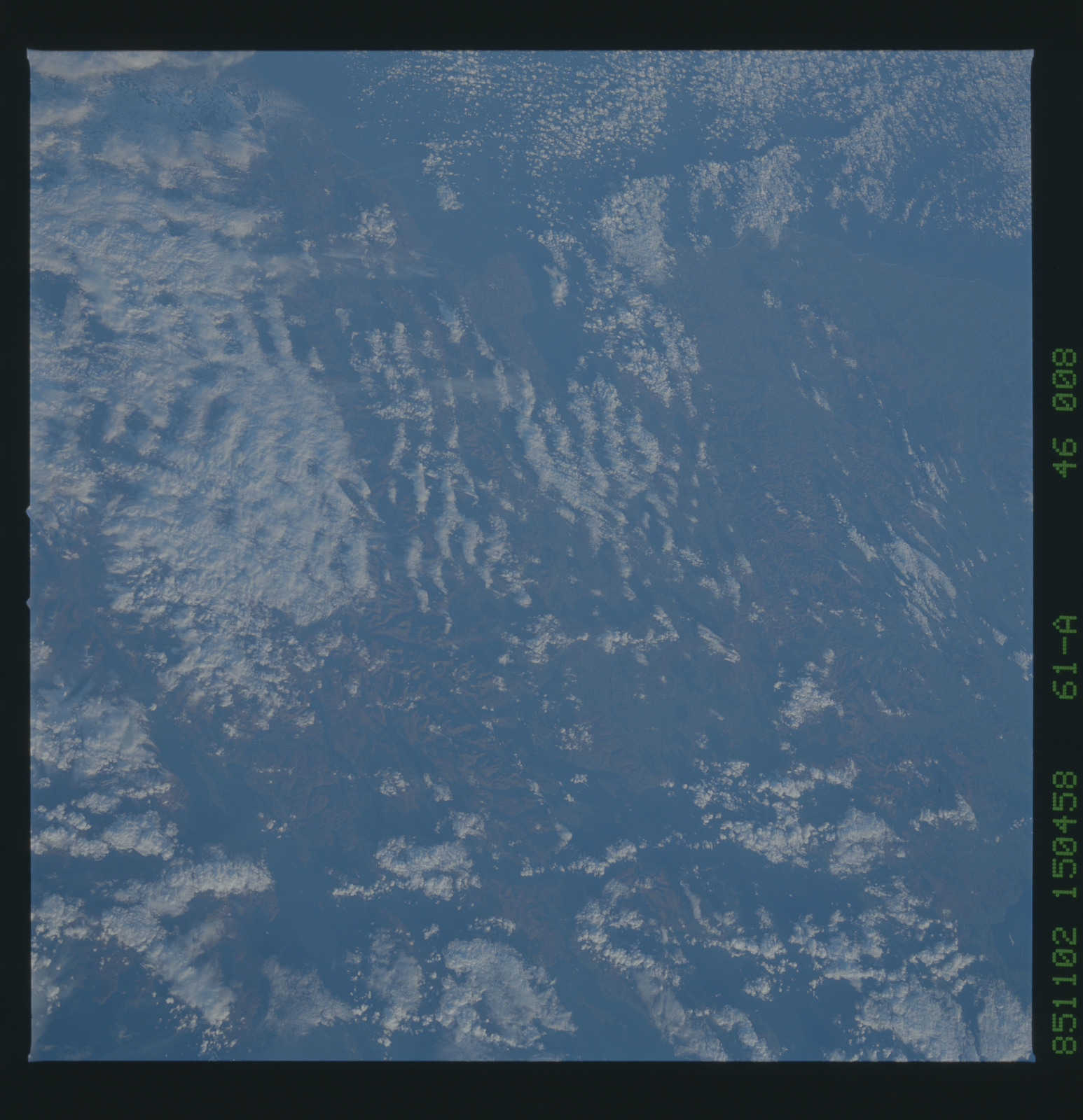 61A-46-008 - STS-61A - STS-61A earth observations