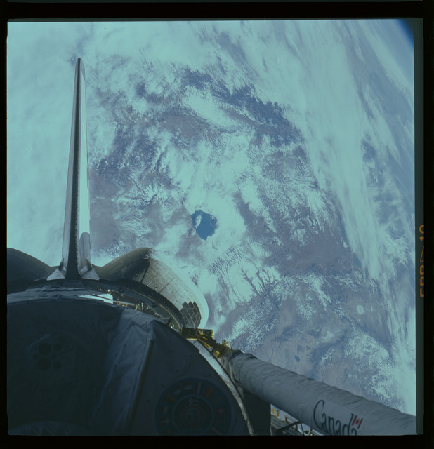 61A-463-008 - STS-61A - STS-61A ESA earth observations