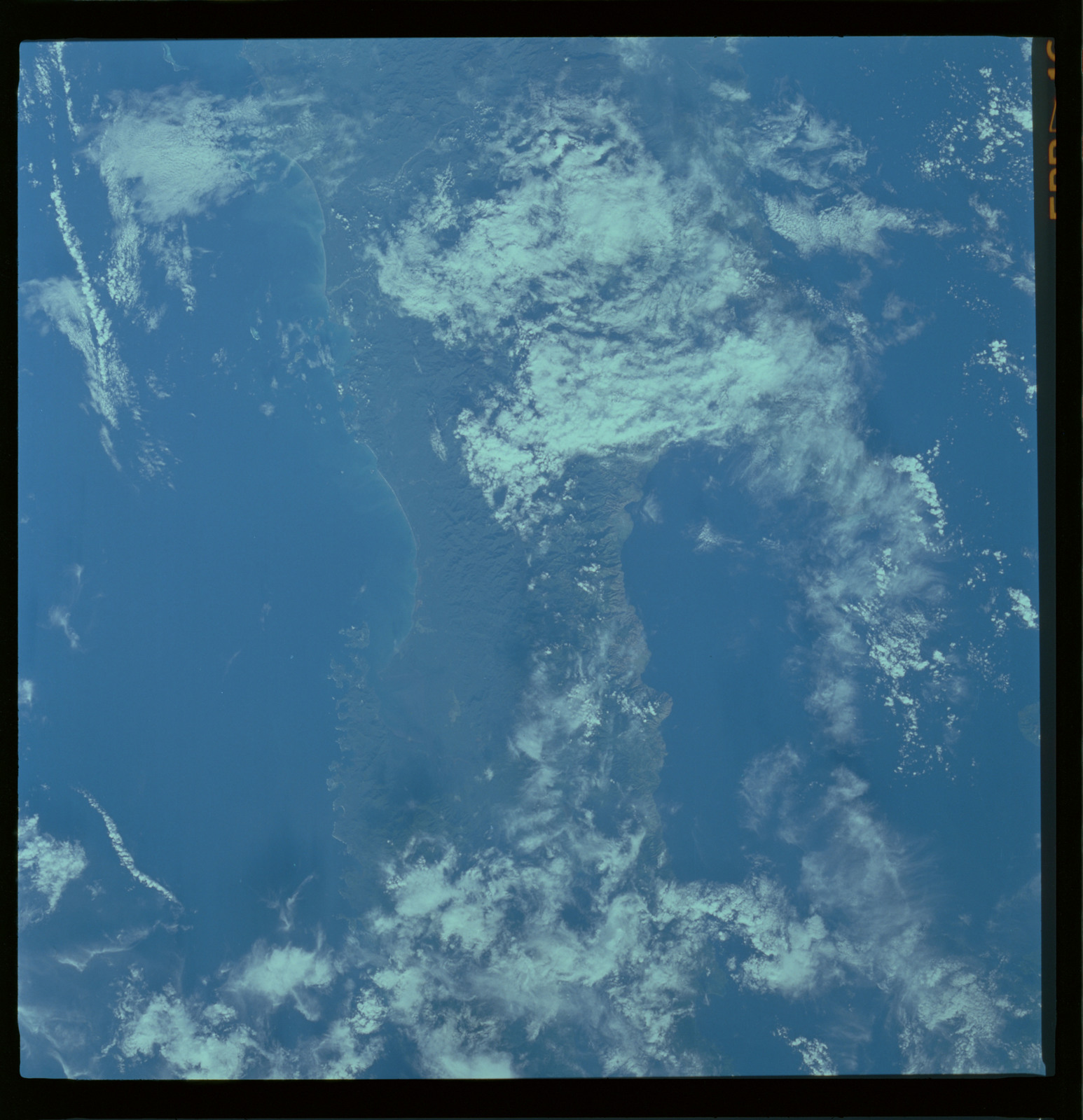 61A-487-010 - STS-61A - STS-61A ESA earth observations
