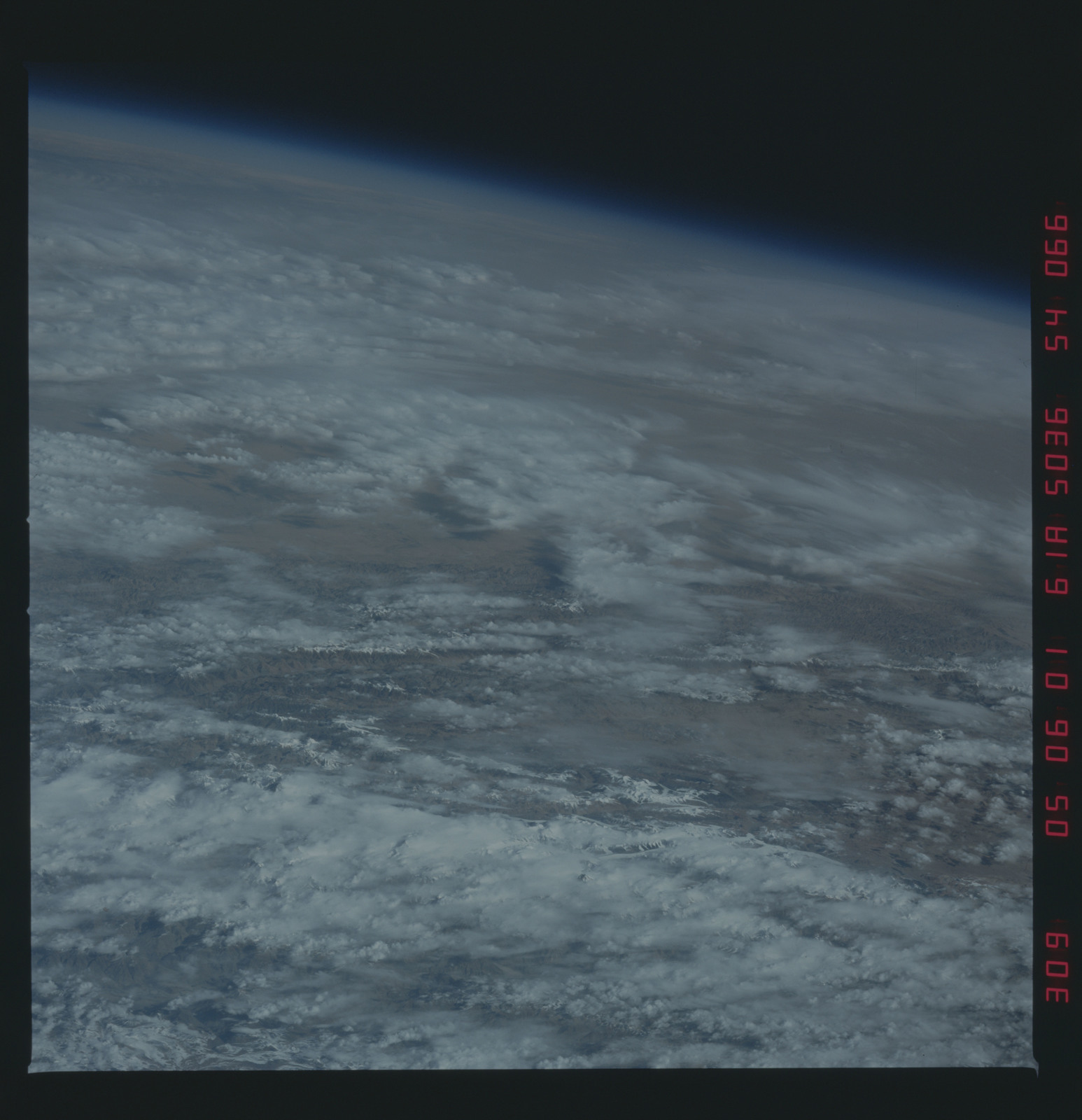 61A-54-066 - STS-61A - STS-61A earth observations