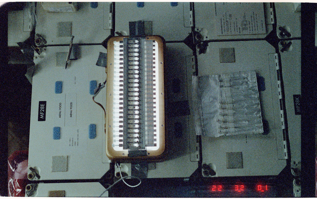 61B-108-035 - STS-61B - STS-61B spaceborne experiment