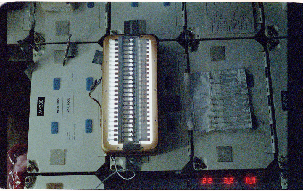 61B-108-036 - STS-61B - STS-61B spaceborne experiment