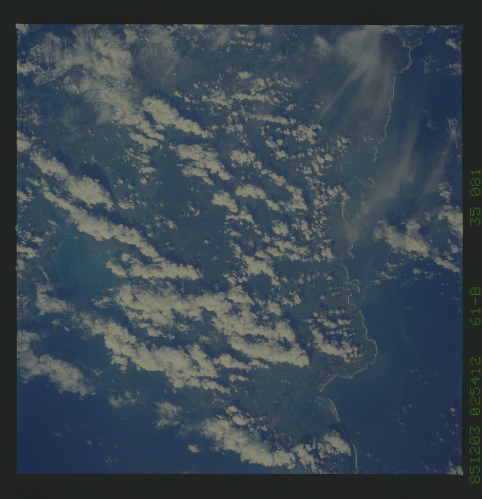 61B-35-081 - STS-61B - STS-61B earth observations