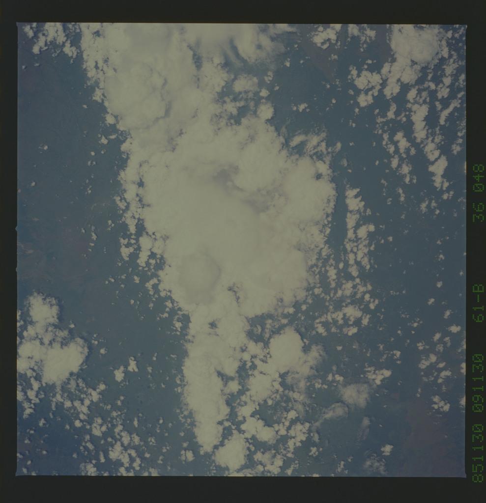 61B-36-048 - STS-61B - STS-61B earth observations