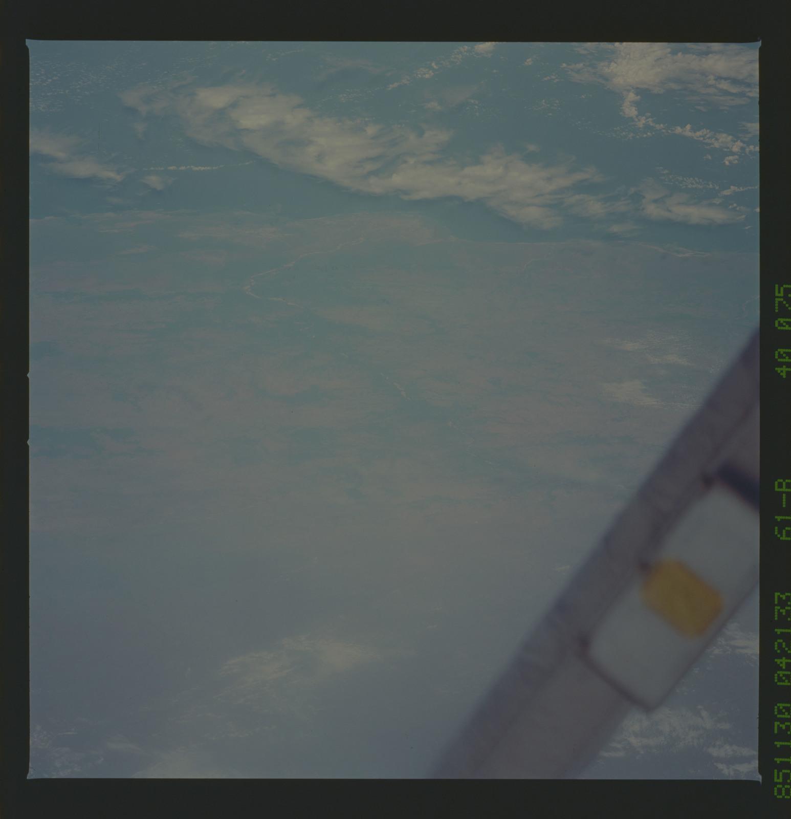 61B-40-075 - STS-61B - STS-61B earth observations