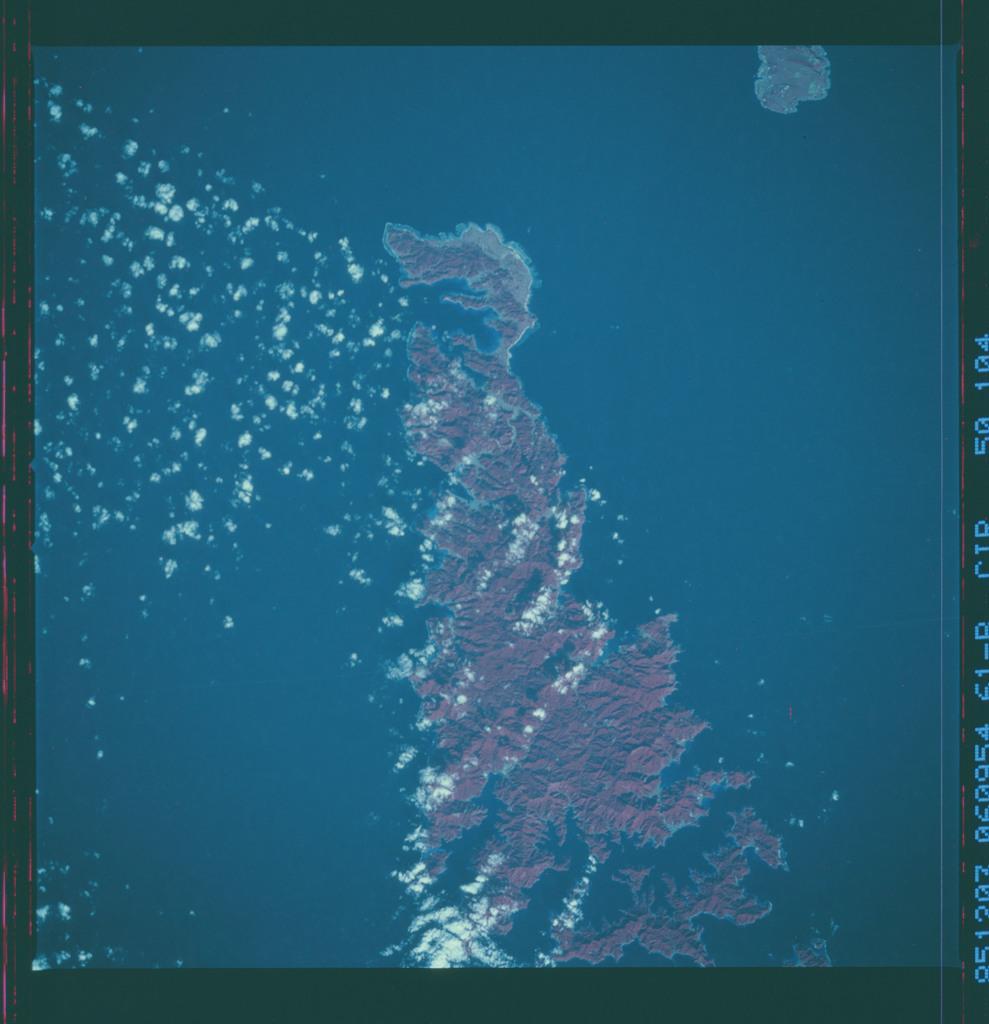 61B-50-104 - STS-61B - STS-61B earth observations