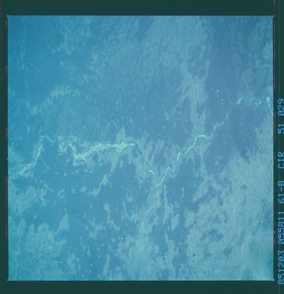 61B-51-029 - STS-61B - STS-61B earth observations