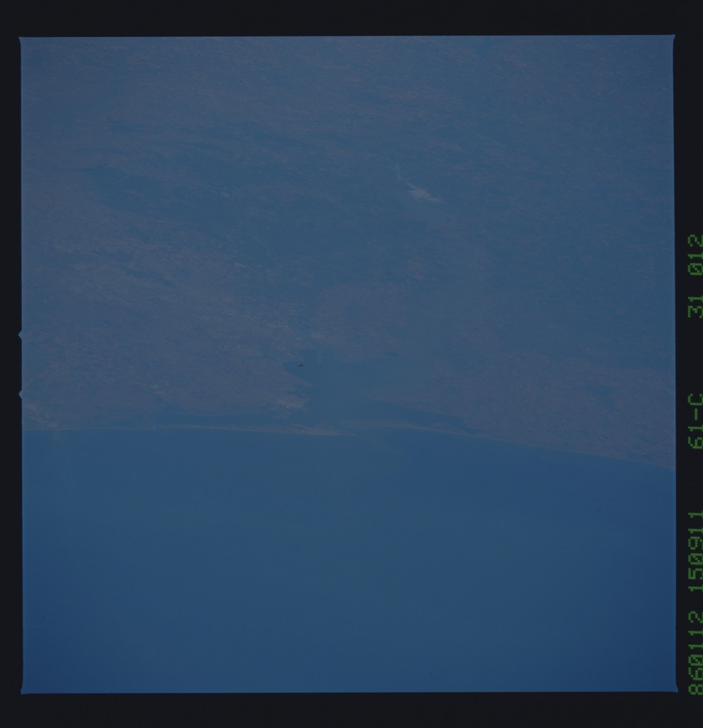 61C-31-012 - STS-61C - STS-61C earth observations