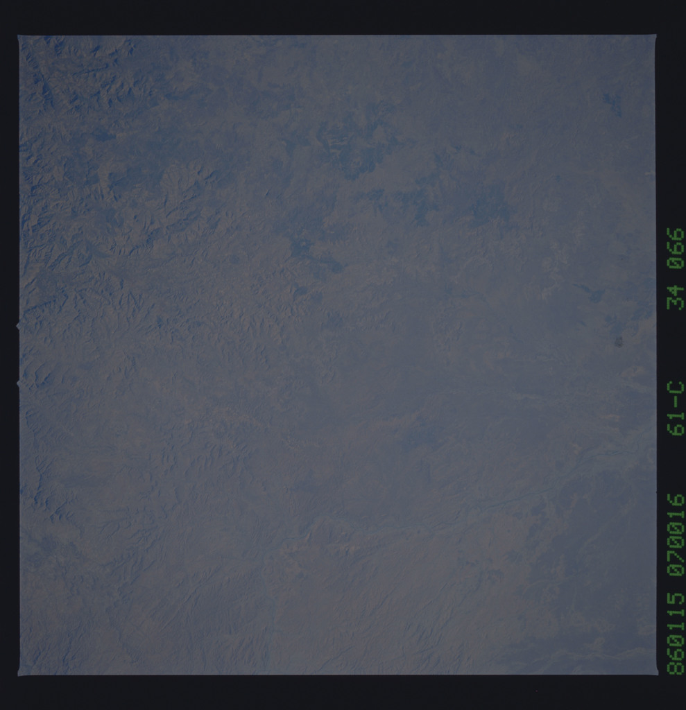 61C-34-066 - STS-61C - STS-61C earth observations