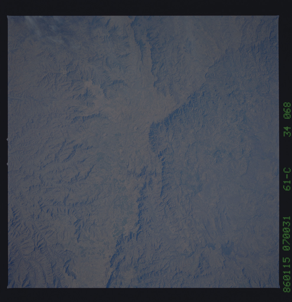 61C-34-068 - STS-61C - STS-61C earth observations