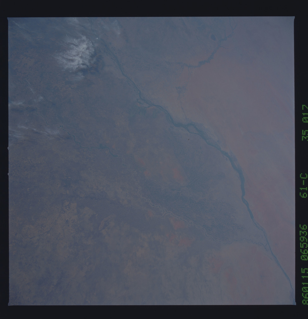 61C-35-017 - STS-61C - STS-61C earth observations