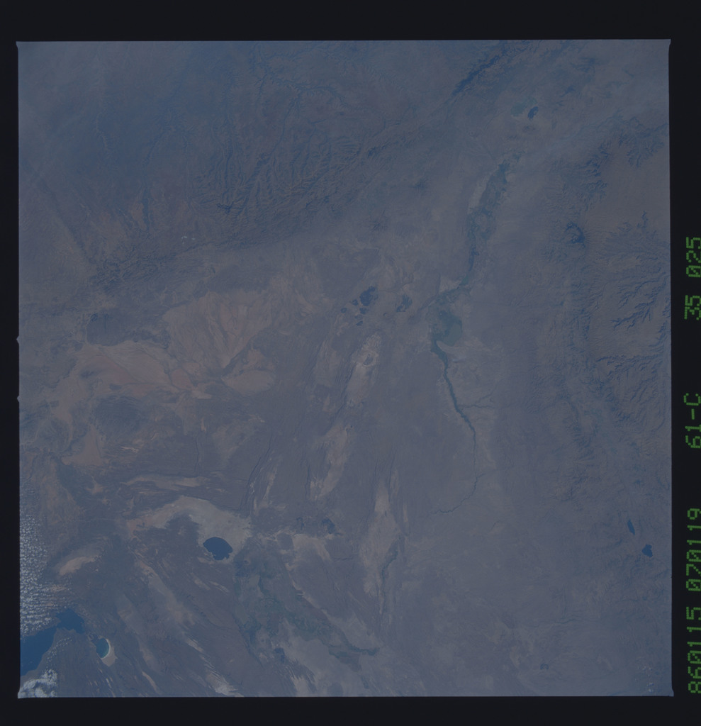 61C-35-025 - STS-61C - STS-61C earth observations