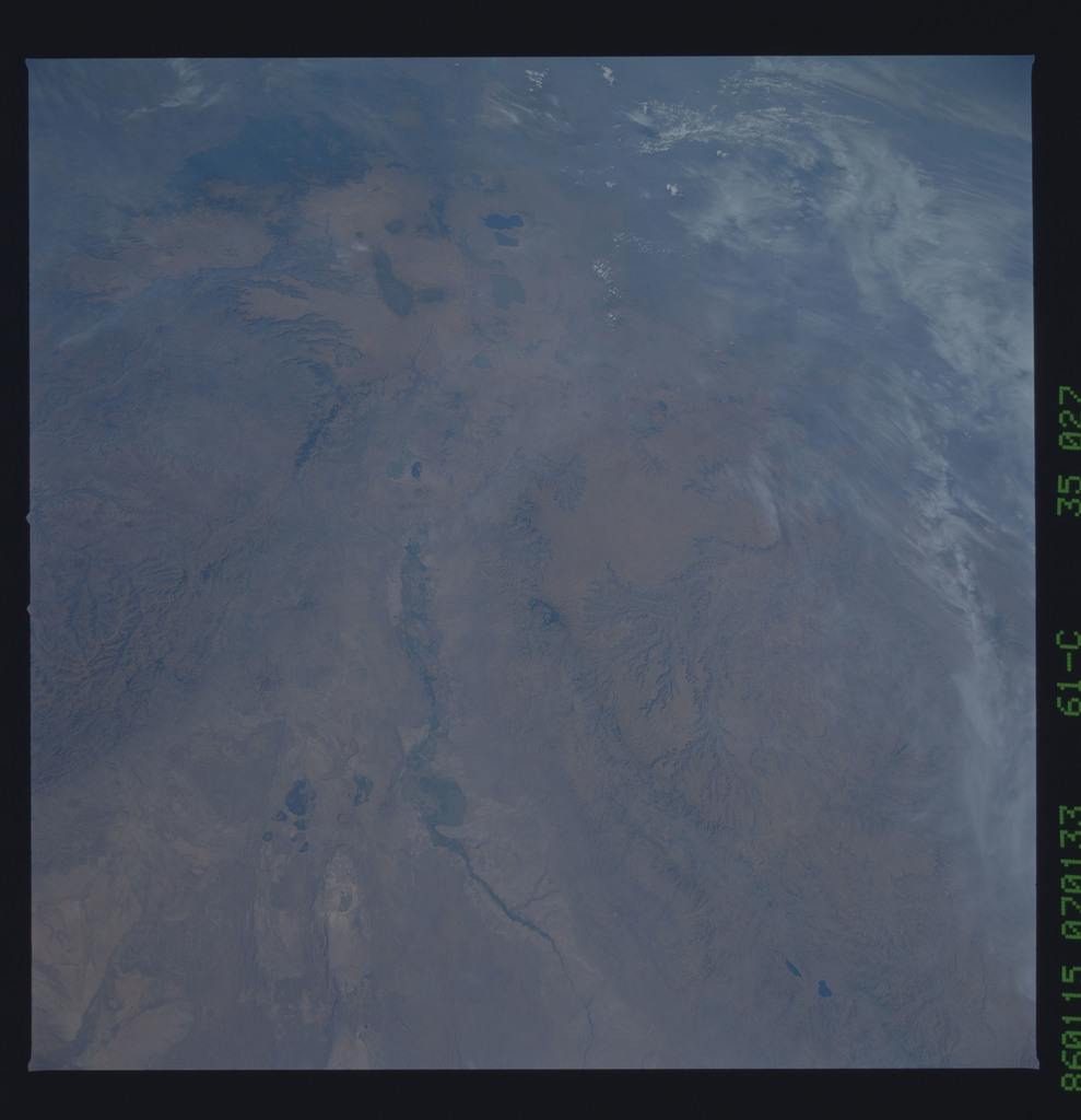 61C-35-027 - STS-61C - STS-61C earth observations