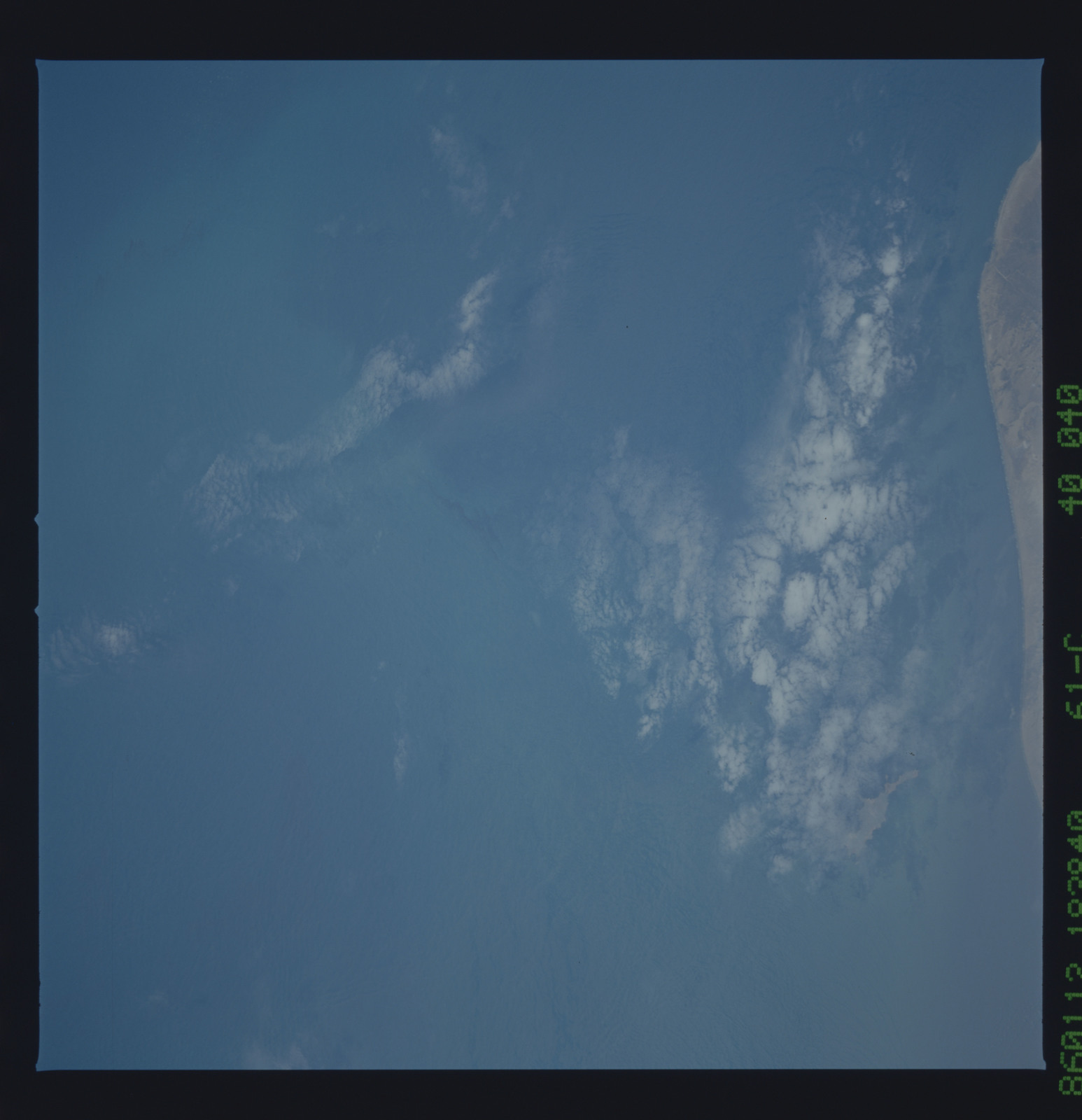 61C-40-040 - STS-61C - STS-61C earth observations