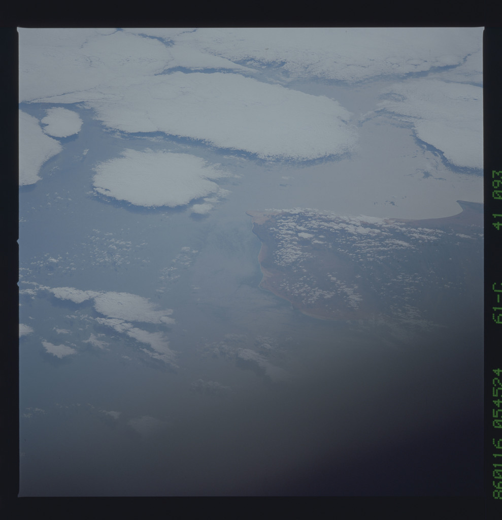 61C-41-093 - STS-61C - STS-61C earth observations