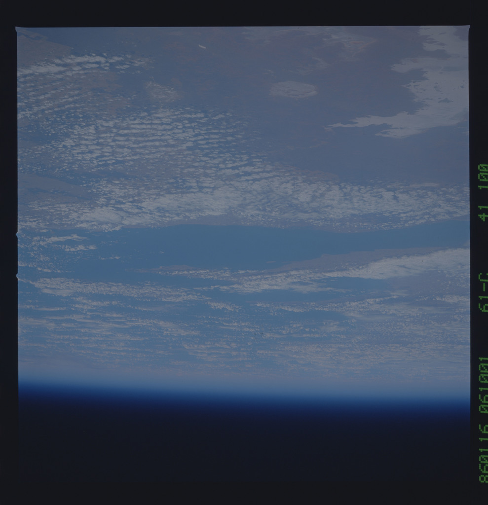 61C-41-100 - STS-61C - STS-61C earth observations