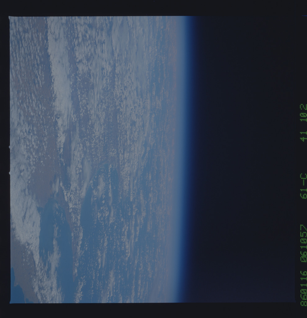 61C-41-102 - STS-61C - STS-61C earth observations