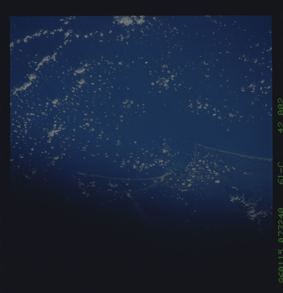 61C-42-002 - STS-61C - STS-61C earth observations