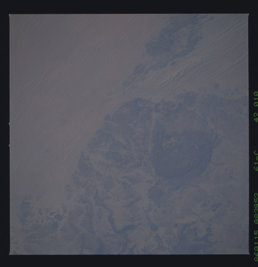 61C-42-010 - STS-61C - STS-61C earth observations