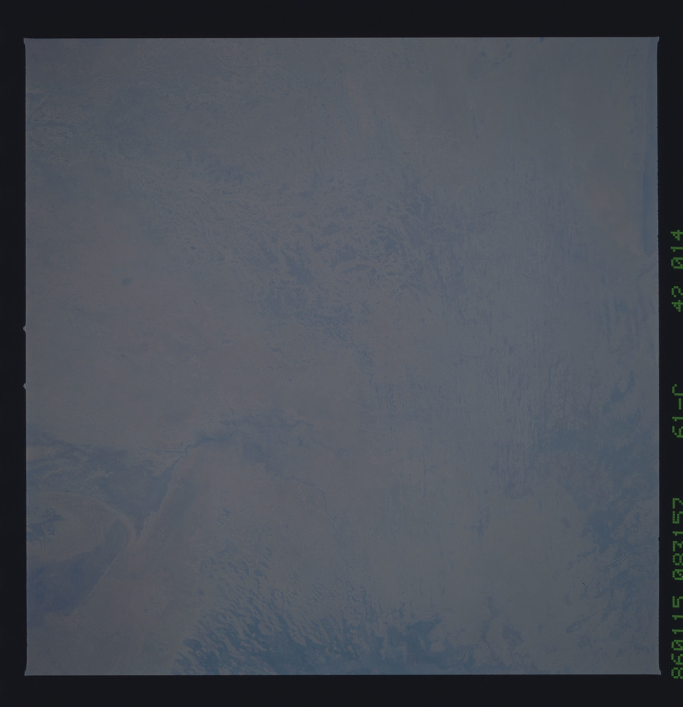 61C-42-014 - STS-61C - STS-61C earth observations