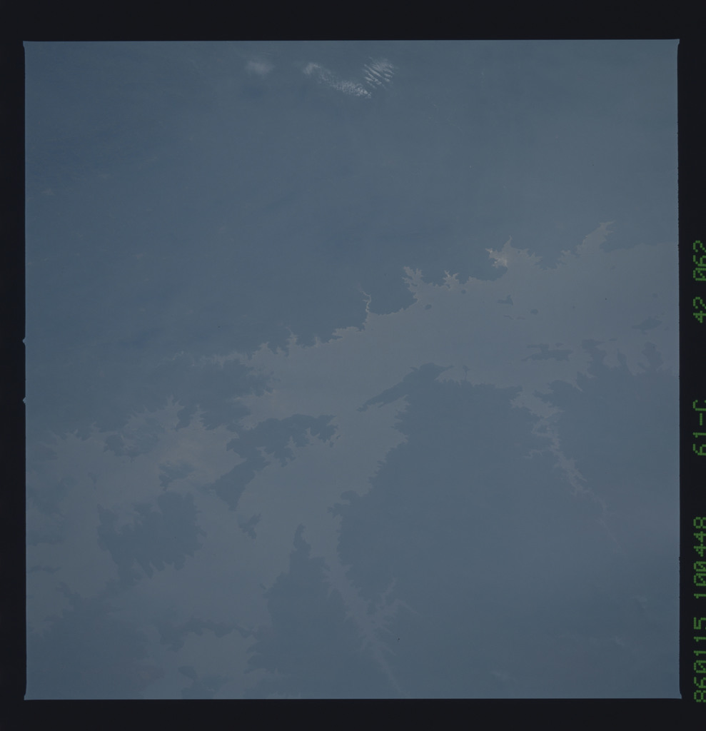 61C-42-062 - STS-61C - STS-61C earth observations