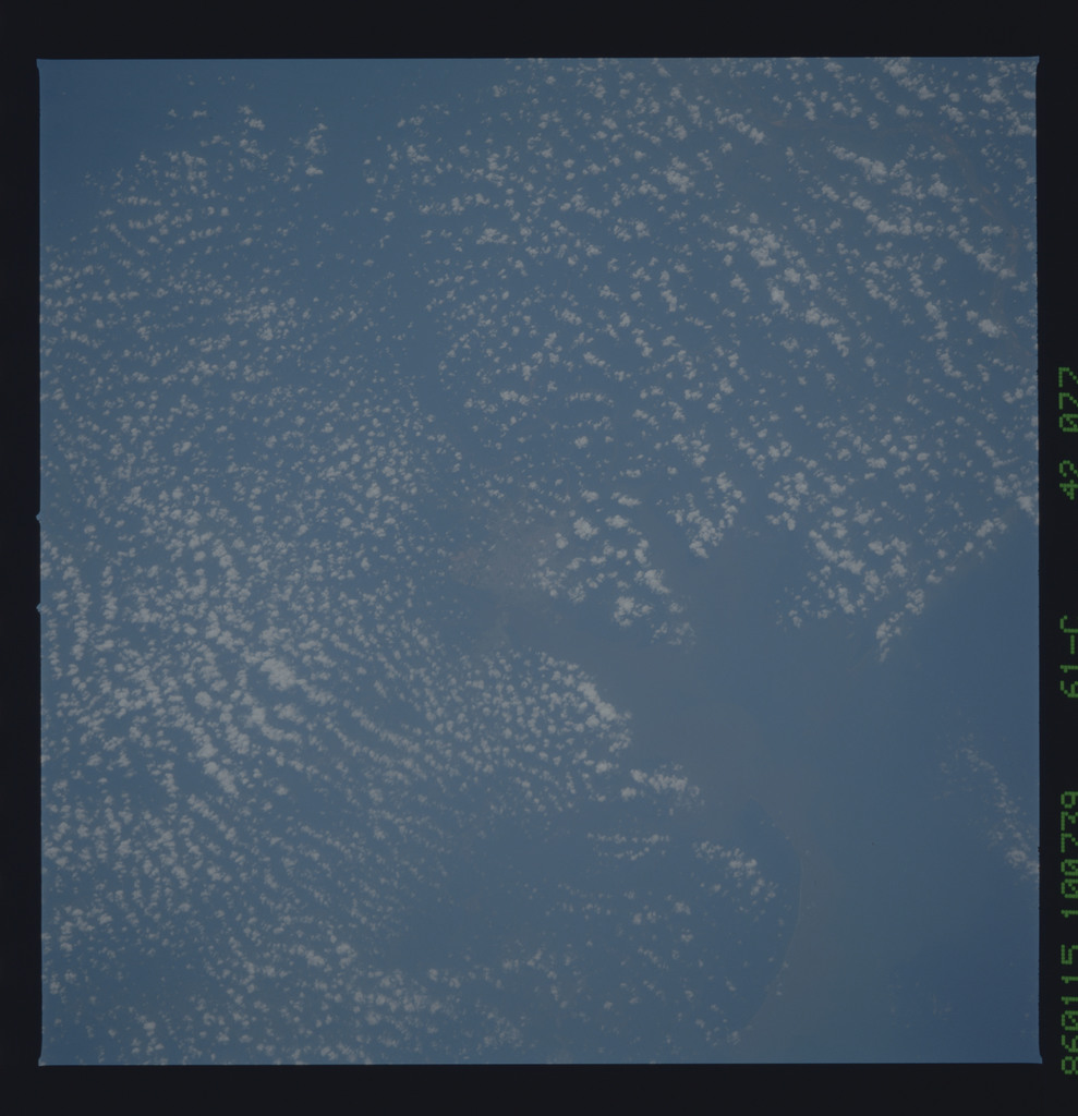 61C-42-077 - STS-61C - STS-61C earth observations