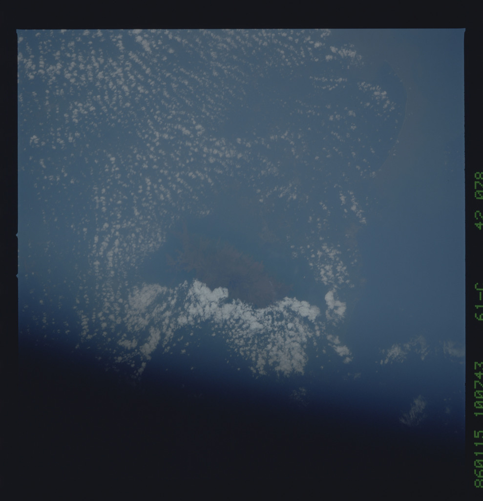 61C-42-078 - STS-61C - STS-61C earth observations
