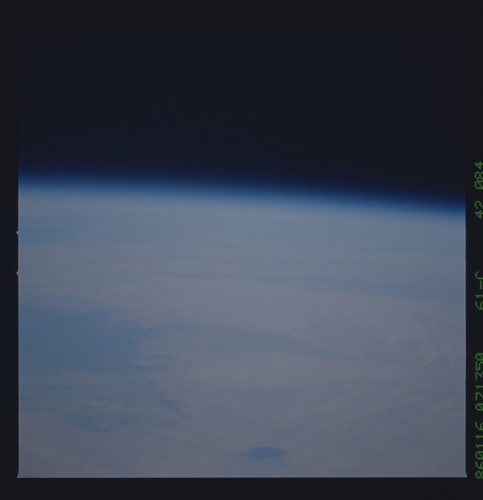 61C-42-084 - STS-61C - STS-61C earth observations