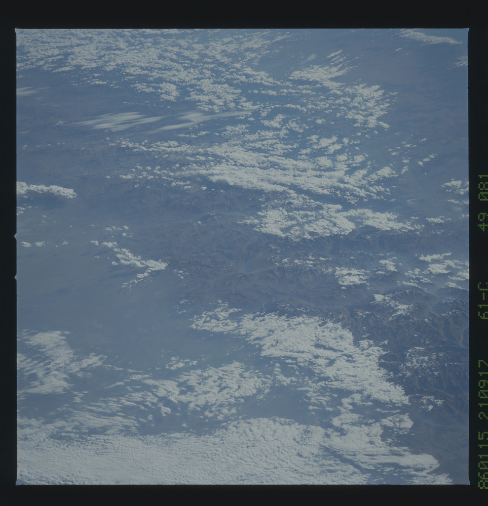 61C-49-081 - STS-61C - STS-61C earth observations