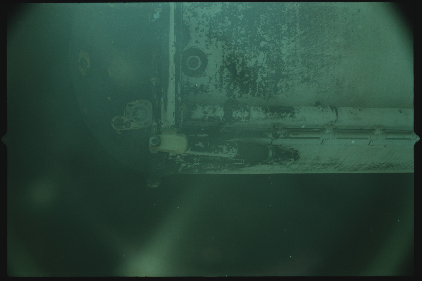 S02-500-920 - STS-002 - View of the External Tank after separation from Columbia during the STS-2 mission